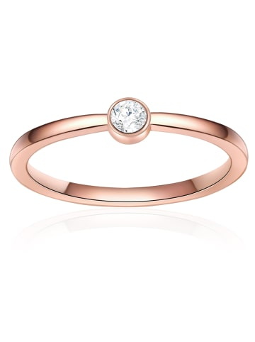 Soul Club Ring Edelstahl Zirkonia in Roségold in roségold