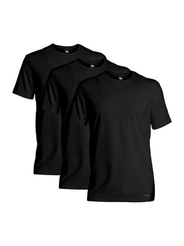 Ted Baker T-Shirt 3er-Pack Crew Neck in Schwarz