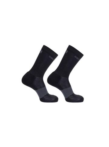 SALOMON Trail Running Socken 2er-Pack in BLACK/BLACK