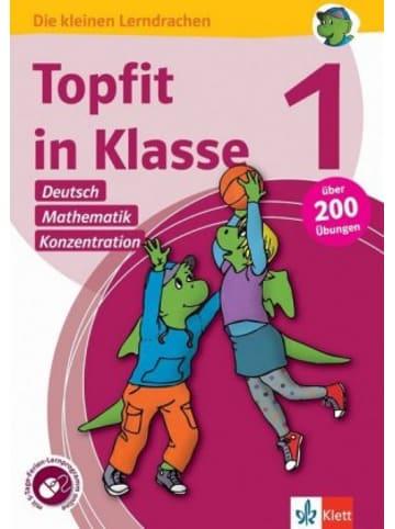 Klett Kinderbuch Topfit in Klasse 1 - Deutsch, Mathematik und Konzentration
