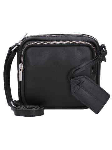 Cowboysbag Durban Umhängetasche Leder 17 cm in black