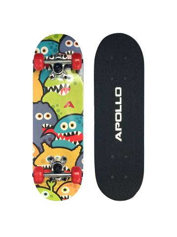 "Apollo Kinderskateboard "" Monsterskate "" in mehrfarbig"