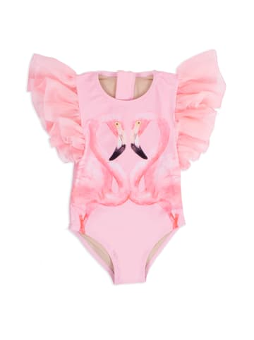 """Shade Critters Kinder Badeanzug  """"Pink Flamingo Tulle"""" in pink"""