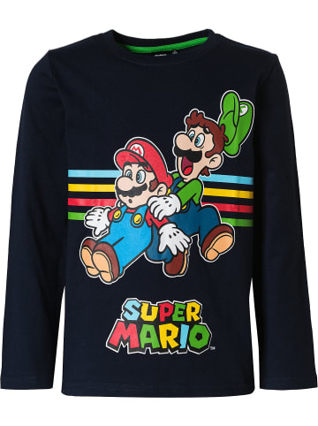 Super Mario Super Mario Langarmshirt