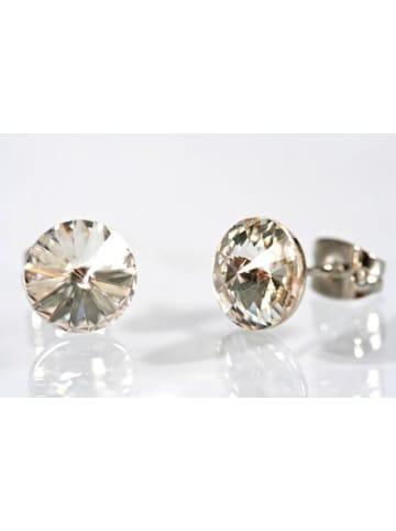MeinVIPShop Ohrstecker mit Crystals from Swarovski crystal