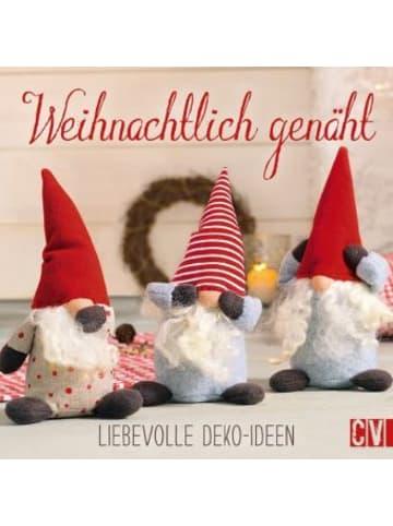 Christophorus Weihnachtlich genäht