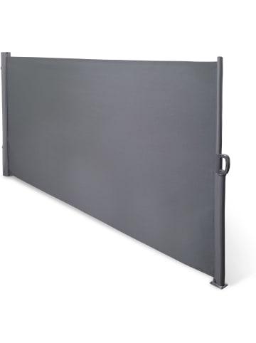 Normani Seitenmarkise Sicht- und Sonnenschutz 180 x 300 cm in Anthrazit