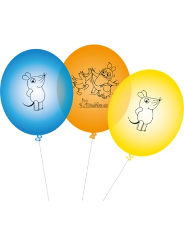 Dh konzept Ballons Die Maus, 8 Stück