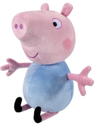 Jazwares Peppa Pig Deluxe Plüschfigur Schorsch
