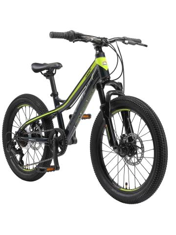 "BIKESTAR Kinder Fahrrad ""Mountainbike"" in Blau Grün - 20 Zoll"