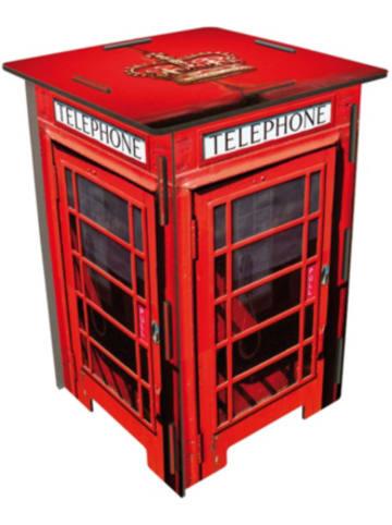 WERKHAUS® Photo-Hocker Telefonzelle London