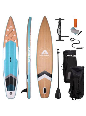"Apollo Aufblasbares Stand Up Paddle Board "" SUP - Infinity "" in holz/blau/schwarz"