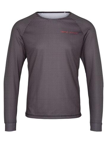 Twelvesixteen 12.16 Laufshirt Run T-shirt in carbon/grey