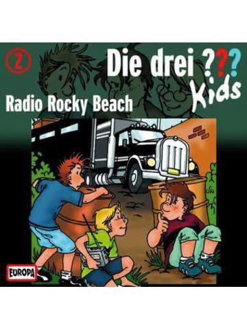 Die drei Fragezeichen Die drei ??? Kids: Radio Rocky Beach, 1 Audio-CD