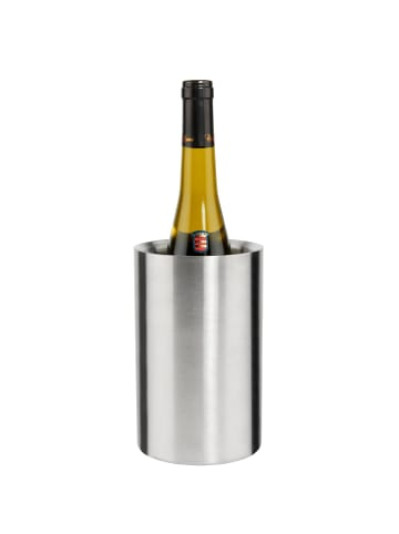 Butlers Weinkühler Höhe 19cm THE COOLER in silber