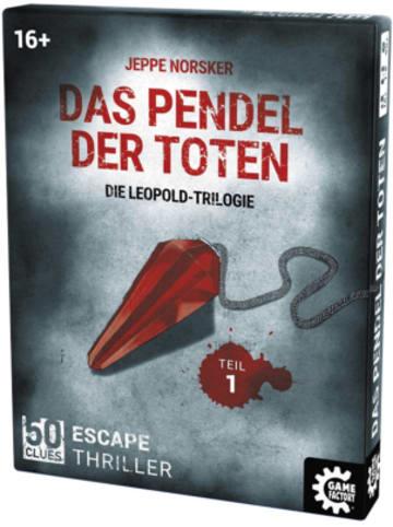 Game Factory 50 Clues - Das Pendel der Toten, Die Leopold-Trilogie Teil 1 - Escape...