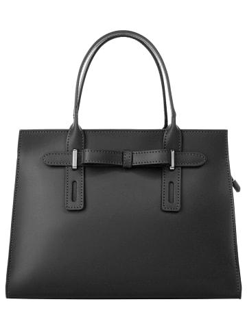 Cluty Handtasche in schwarz