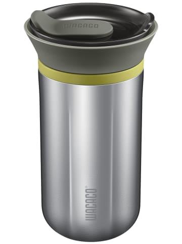 Wacaco Espressomaschine Cuppamoka in silver-schwarz
