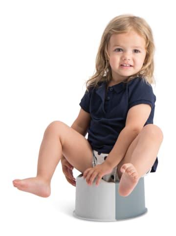 Buubla Buubla Travel Potty Faltbarer Toilettensitz für Kinder in weiß / hellgrau