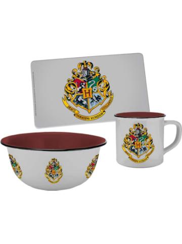Geda Labels Geschirrset Harry Potter mit Hogwarts Wappen, 3-tlg.