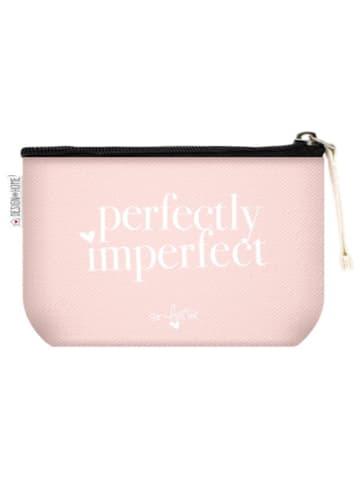 "Design@Home Kosmetiktasche ""Perfectly Imperfect"", 16x9,5cm"
