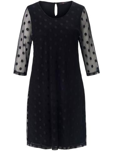 EMILIA LAY Abendkleid Kleid mit 3/4-Arm in schwarz