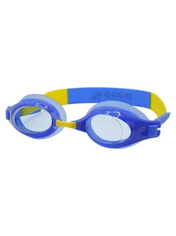 PiNAO Sports Schwimmbrille für Kinder in blau-gelb