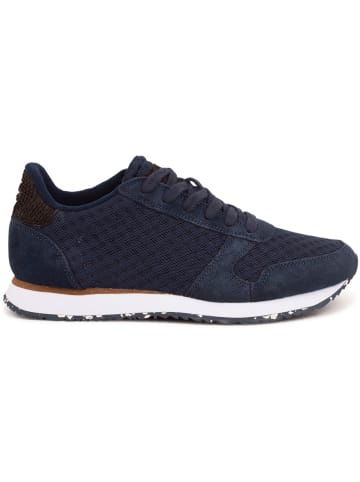 WODEN Sneakers Ydun Suede Mesh II in Blau