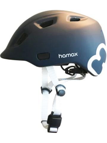 Hamax Fahrradhelm Thundercap NAVY BLUE/WHITE 47-52 cm