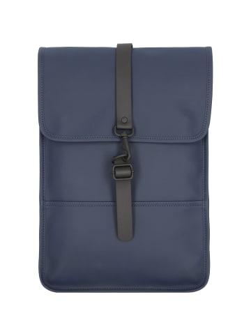 RAINS Rucksack 40 cm Laptopfach in blue