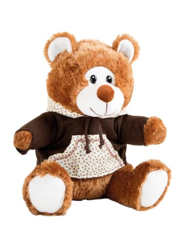 Small foot Teddybär mit Kapuzenpulli in braun