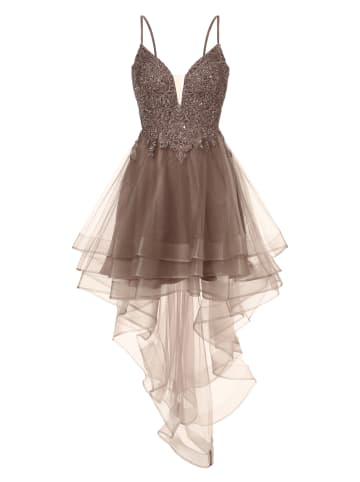 LAONA Abendkleid in taupe