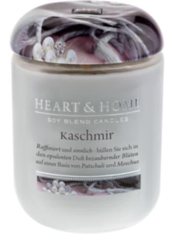 "HEART & HOME Große Duftkerze ""Kaschmir"", 340 g"