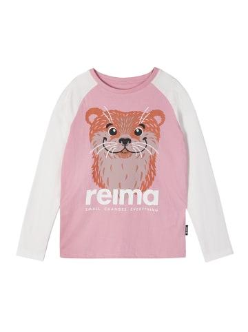 "Reima Longsleeve "" Iholle "" in Rosy pink"