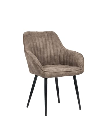 Riess-ambiente.de Stuhl TURIN in Vintage Taupe - 60 x 84 x 61cm