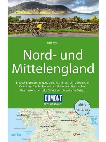DuMont Kalenderverlag DuMont Reise-Handbuch Reiseführer Nord-und Mittelengland   mit Extra-Reisekarte
