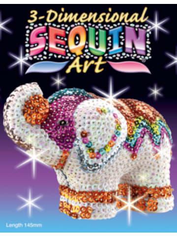 MAMMUT Spiel und Geschenk Sequin Art 3D - Elefant