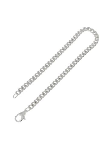 """Luxxos Panzerarmband """"19 cm"""" in silber"""