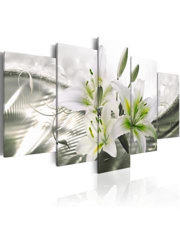 Artgeist Wandbild Sensual Subtlety in Grau,Grün,Weiß