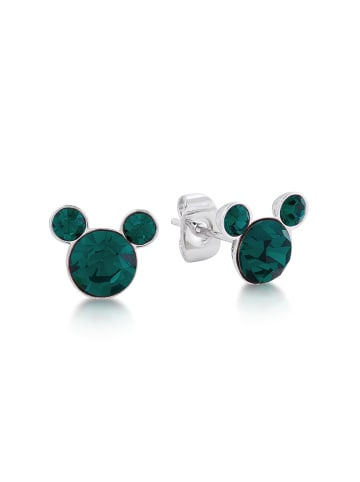 "Couture Kingdom Ohrstecker "" Disney Micky Maus Mai "" in Smaragdgrün"