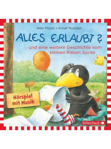 Rabe Socke Kleiner Rabe Socke: Alles erlaubt?, 1 Audio-CD