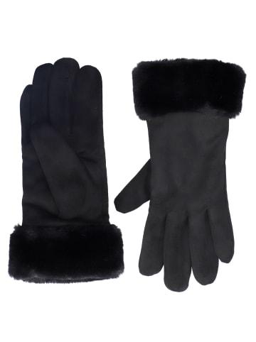 Six Handschuhe in schwarz