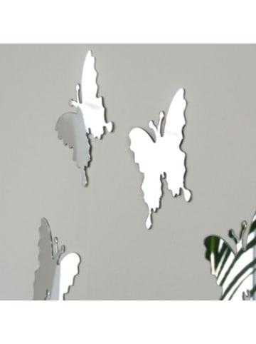 """Tawo Spiegelsticker-Set """"Schmetterlinge"""", H/B/T: 10x9,5x1,5 cm"""