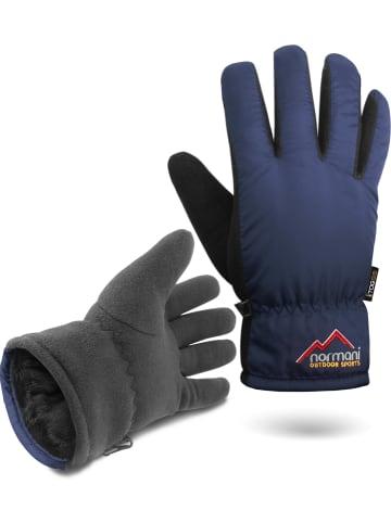 Normani Herren Handschuhe Lupus in Navy