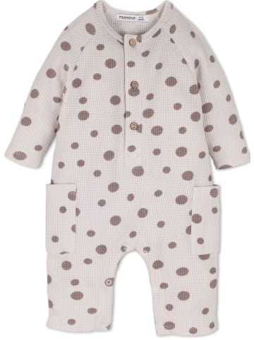 Idil Baby Jungen Overall in grau