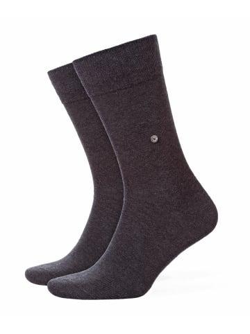 Burlington Socken 2er Pack in Anthrazit