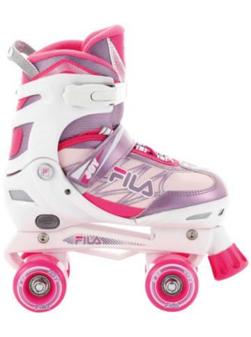 FILA SKATES Rollschuhe Joy G white/pink/violet Größe L (39-42)