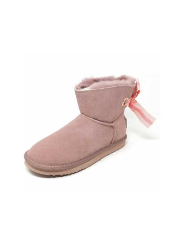 OOG Stiefelette in rose