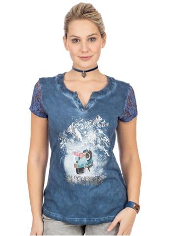 Trachten Stoiber T-Shirt 321141 denim