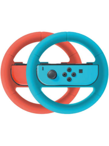 Bigben Nintendo Switch Wheel Duo Pack, rot/blau